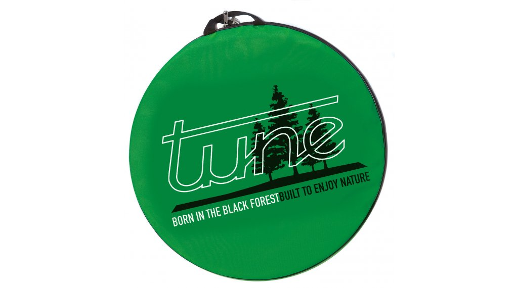 Tune Baggy wheel pocket with Trage belt green