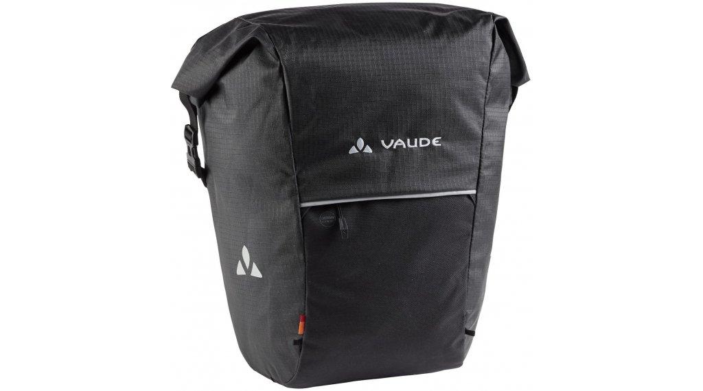 VAUDE Road Master Roll-It Waxed Hinterradtasche black