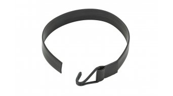 VAUDE Bungee rubber tape with hook black