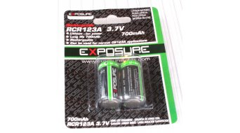 Exposure Lights accumulatore 2 pezzi 700 mAh per Spark