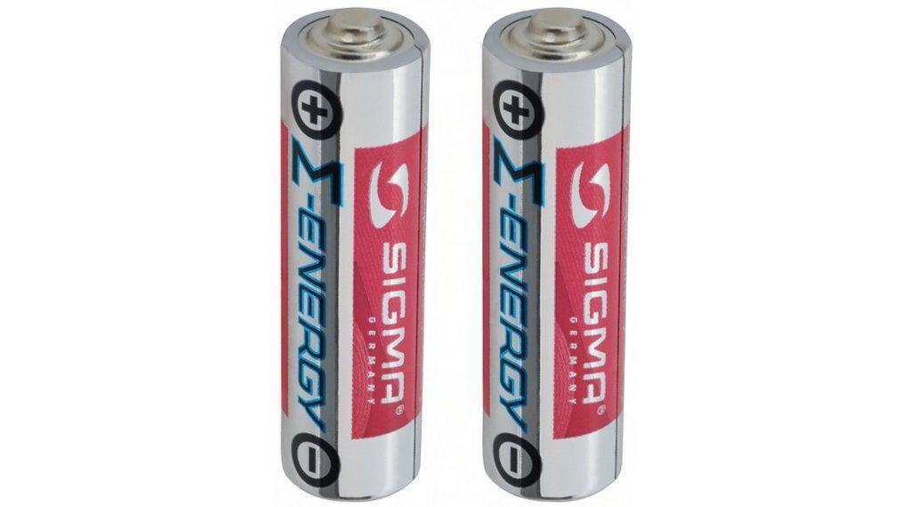 Sigma Sport Alkaline AA/L6 Batterie-Set