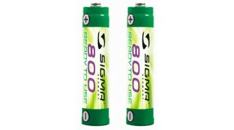 Sigma Sport rechargeable battery- set 2x800mAh for Stereo lighting system