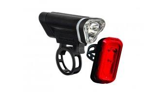 Blackburn Local 50 + Local 10 LED-Beleuchtungs-Set (rote und weiße LED) black