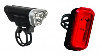 Blackburn Local 75 + Local 10 LED-Beleuchtungs-Set (rote und weiße LED) black