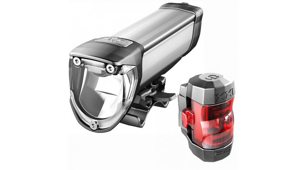 Busch & Müller Ixon Core IQ2/Ixxi LED Beleuchtungs-Set schwarz