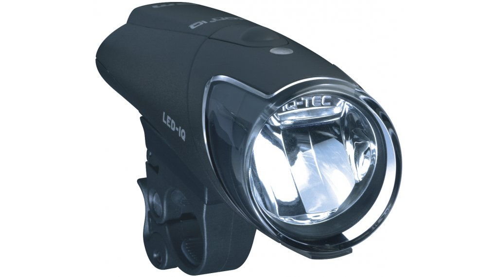 Busch & Müller Ixon IQ LED Frontleuchte inkl.  Akkus / inkl. Ladegerät schwarz