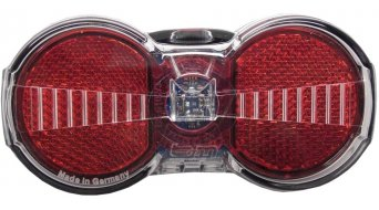 Busch & Müller Toplight Flat S Plus dynamo rear light rack mounting  50/80mm-hole spacing with parking light function