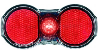 Busch & Müller Toplight Flat battery rear light rack mounting