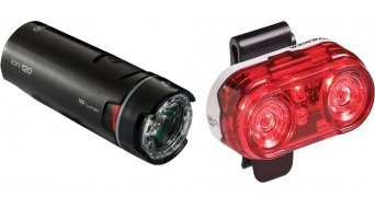 Bontrager Ion 120/Flare 3 lighting system set black