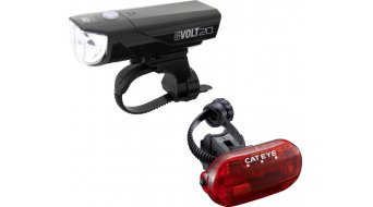 Cat Eye GVOLT20/Omni 3G HL-EL350G/TL-LD135G Beleuchtungs-Set schwarz