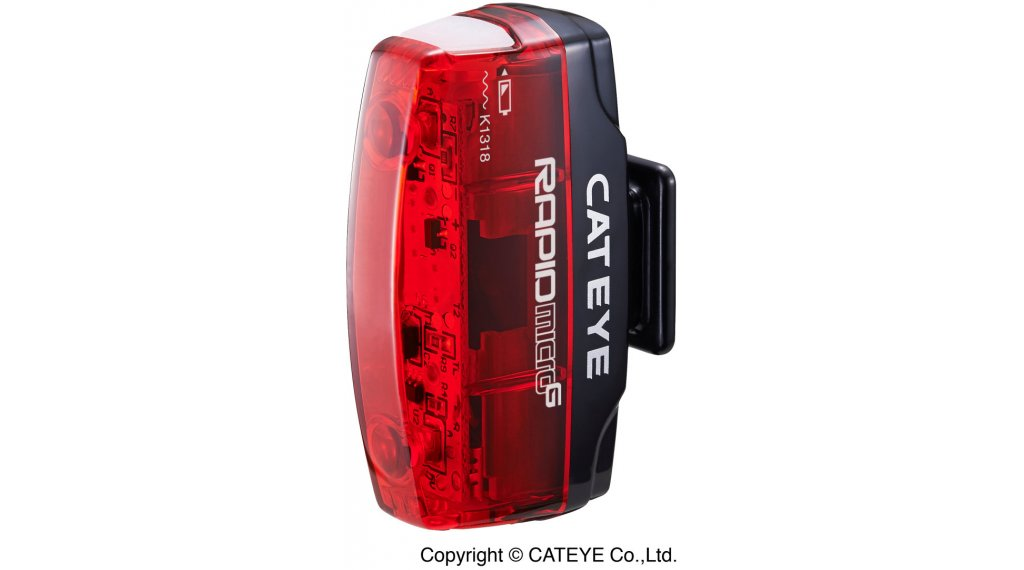 Cat Eye Rapid Micro G TL-LD620G LED 后灯 黑色/红色
