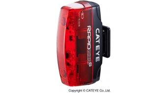 Cat Eye Rapid Micro G TL-LD620G LED Rücklicht schwarz/rot