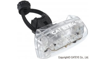 Cat Eye TL-LD 330G flashing light LED lighting system transparent/red