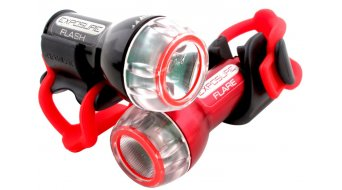 Exposure Lights Flare LED Beleuchtung rote LED 75 Lumen inkl. Batterie und Stangenhalterung (Abb. ähnlich))