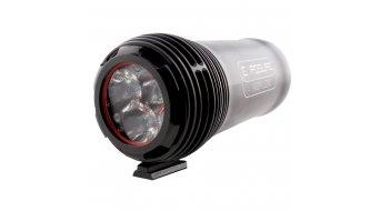 Exposure Lights Reflex Mk1 LED-Scheinwerfer schwarz 2200 Lumen inkl. Quick Release Lenkerhalterung