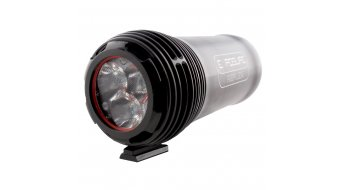 Exposure Lights Reflex Mk1 LED-phare noir 2200 Lumen incl. Quick Release support guidon
