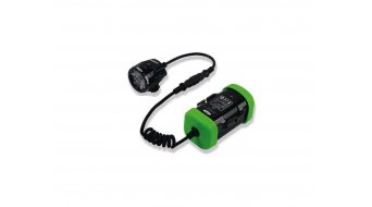 Hope R4+ LED Stirn light standard (incl. 1x 4-cells- rechargeable battery with Kapazitäts display )