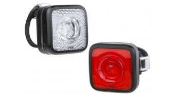 Knog Blinder MOB Beleuchtungs-Set (StVZO-konform) black