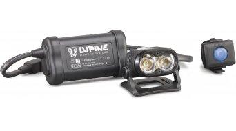 Lupine Piko R 4 Helmlampe 15W/1500 Lumen negro(-a) incl. Bluetooth Remote Mod. 2017
