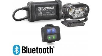 Lupine Blika R 4 Helmlampe 2100 Lumen 3.3 Ah Hardcase Akku schwarz Mod. 2018 inkl. Bluetooth Fernbedienung
