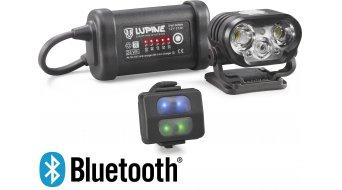 Lupine Blika R 4 Helmlampe 2100 Lumen 3.3 Ah SmartCore aku černá model 2018 včetně Bluetooth dálkové ovládání- TESTLAMPE