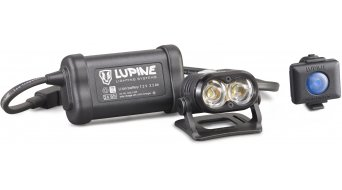 Lupine Piko R 4 盔灯 1800 流明 3.5Ah Hardcase 蓄电池 黑色 款型 2019