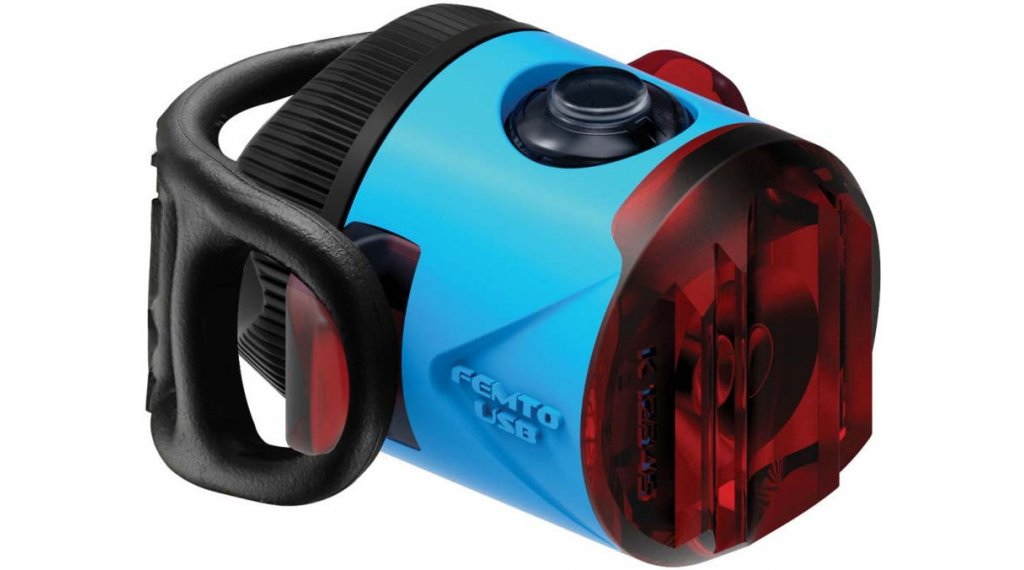 Lezyne Femto Drive Rücklicht (StVZO-konform) blau
