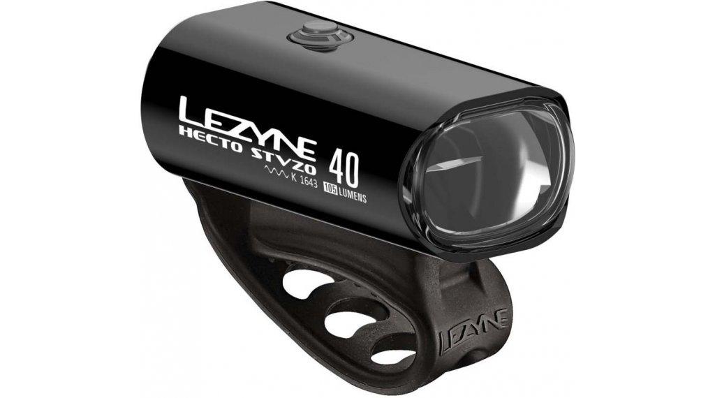 Lezyne Hecto Drive 40 Frontlicht (StVZO-konform) schwarz
