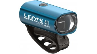 Lezyne Hecto Drive 40 Frontlicht (StVZO-konform) blau