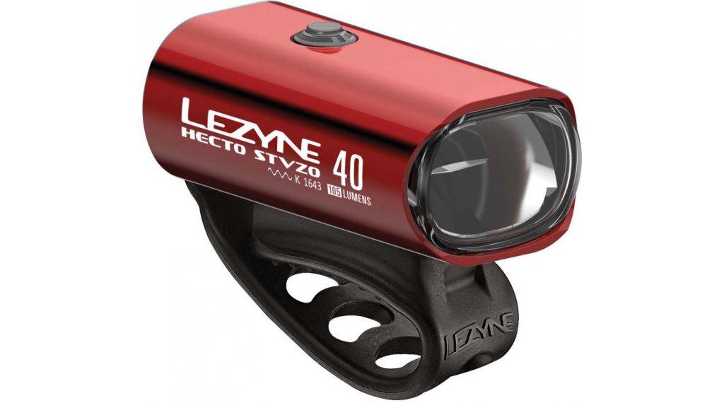 Lezyne Hecto Drive 40 Frontlicht (StVZO-konform) rot