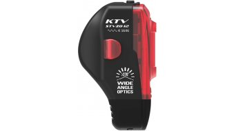 Lezyne KTV Drive rear light (StVZO-konform) black