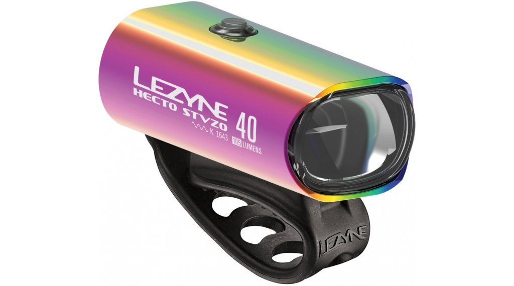 Lezyne Hecto Drive 40 Frontlicht neo metallic