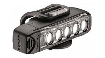 Lezyne LED Strip Drive système déclairage LED-blanc (120Lumen) noir