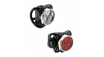 Lezyne LED Zecto Drive Beleuchtungsset LED-rot/weiß (120-20Lumen) polish-glänzend