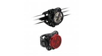 Lezyne LED Zecto Drive set déclairage LED-rouge/blanc (120-20Lumen)