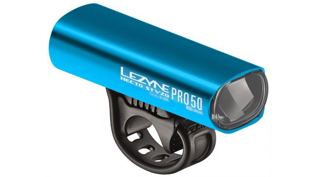 Lezyne Hecto Pro 50 Frontlicht (StVZO-konform) blau
