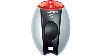 Sigma Sport Micro Beleuchtung silver LED-Red