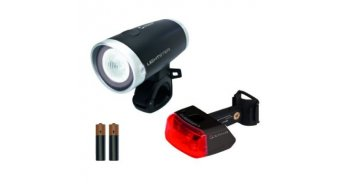 Sigma Sport Lightster/Cuberider II LED-Beleuchtungs-Set