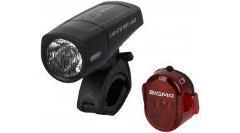 Sigma Sport Lightster USB FL/Nugget II LED juego de iluminación