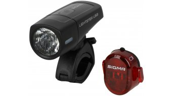 Sigma Sport Lightster USB FL / Nugget II LED Beleuchtungs-Set