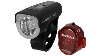 Sigma Sport Roadster USB/Nugget II LED juego de iluminación