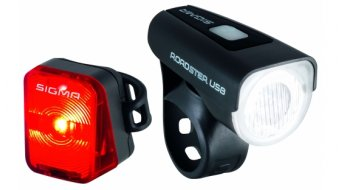 Sigma Sport Roadster USB/ Nugget LED Beleuchtungs-Set