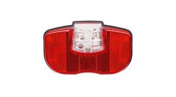 Smart LED-Rücklicht bei Gepäckträgermontage für Dynamobetrieb rot