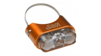 SON rear light for seat post orange/clear