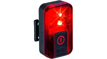 VDO ECO Light Red bike light rear light StVZO-konform (incl. lithium-Ionen- rechargeable battery)