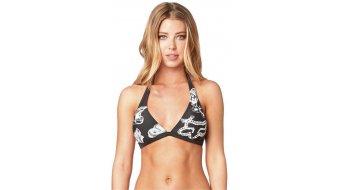 FOX Live Fast Fixed Дамски Bikini горна част размер S черно vintage- Sample