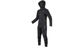 Endura MT500 Waterproof Suit MTB rain an cable men Black