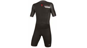 Endura QDC Drag2Zero S/S Tri Suit Triathlon-body férfi Black