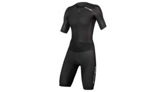 Endura QDC D2Z S/S Tri Suit II with SST Triathlon-Body ladies black