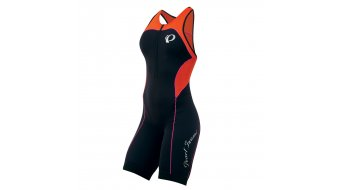 Pearl Izumi Elite In-R-Cool body női-body Triathlon Suit Méret S black/mandarin red